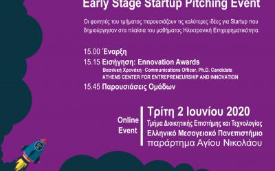 2ος διαγωνισμός Startup επιχειρηματικότητας φοιτητών του τμήματος Διοικητικής Επιστήμης & Τεχνολογίας