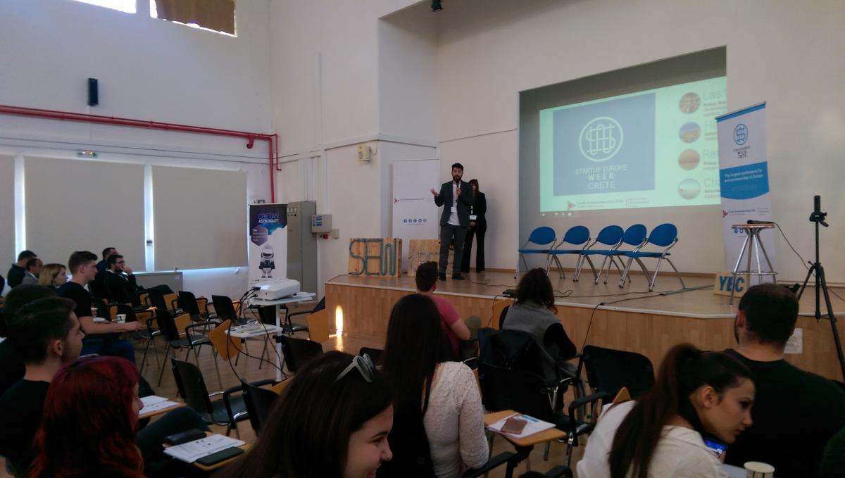 Το Startup Europe Week Crete στο Τμήμα μας